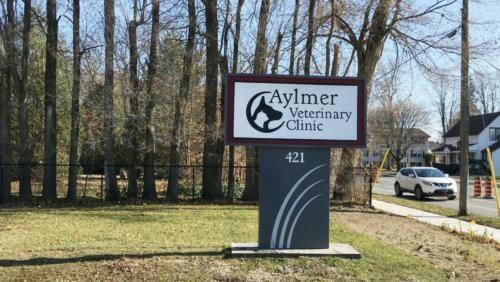 Aylmer - Sign